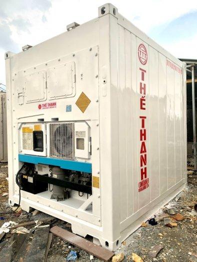 Container lạnh làm kho lạnh trữ đông 16m31