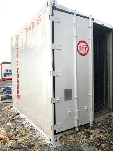 Container lạnh làm kho lạnh trữ đông 16m30
