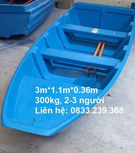 Thuyền nhựa câu cá 2-3 người đi3