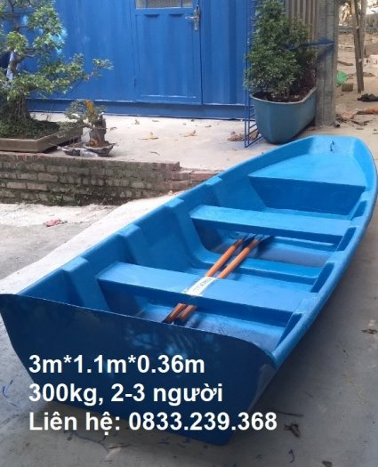 Thuyền nhựa câu cá 2-3 người đi2