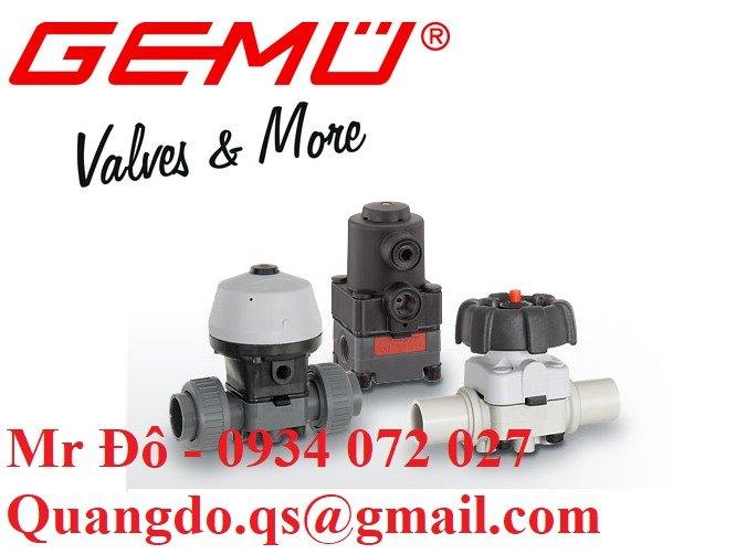 Nhà phân phối van GEMU chính hãng giá tốt1