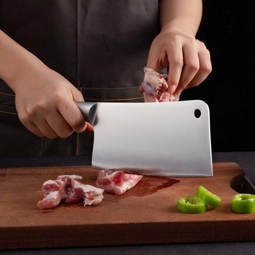 Bộ dao, Bộ dao nhà bếp 7 món JAPAN siêu sắc kèm khay đựng4