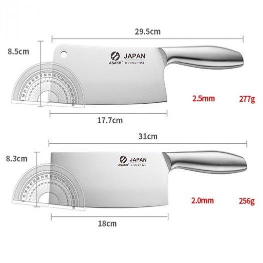 Bộ dao, Bộ dao nhà bếp 7 món JAPAN siêu sắc kèm khay đựng1