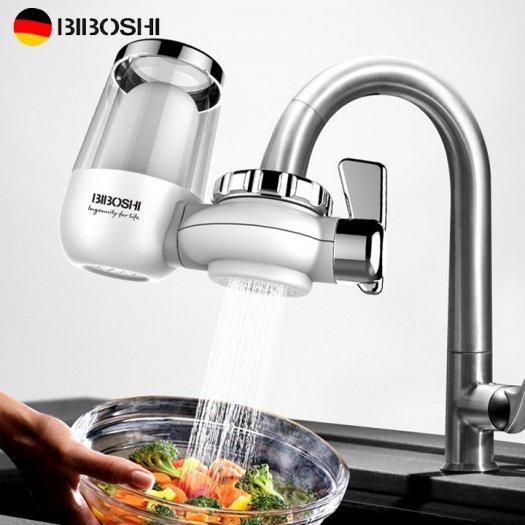 Đầu lọc nước, Máy lọc nước đầu vòi, Bộ lọc đầu vòi BIBOSHI công nghệ ĐỨC0