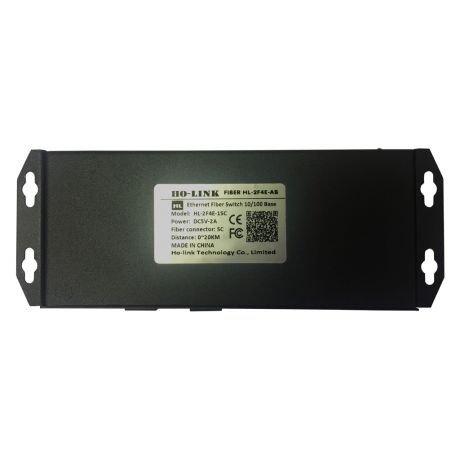 Switch Quang 2 Cổng SC + 4 Cổng J45 10/100Mbps HL-2F4E-1SC3