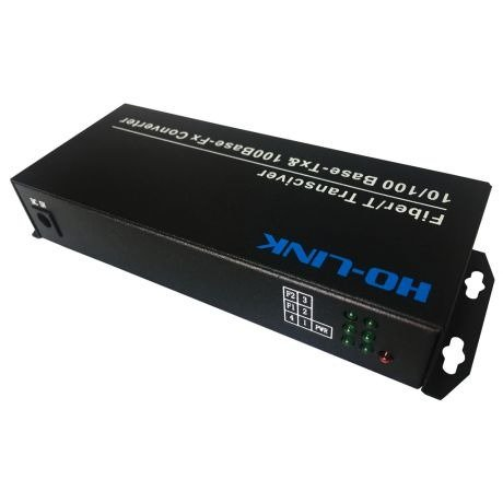 Switch Quang 2 Cổng SC + 4 Cổng J45 10/100Mbps HL-2F4E-1SC2