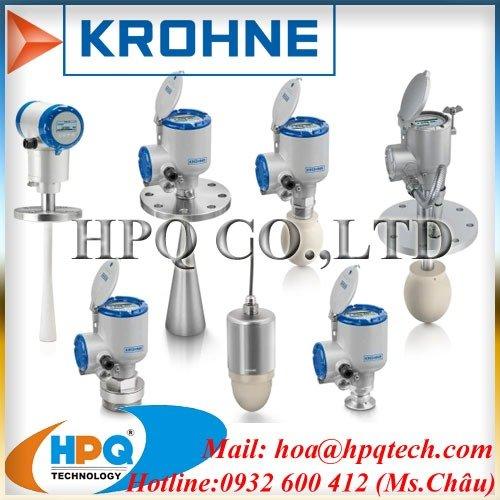 Cảm biến áp suất KROHNE4