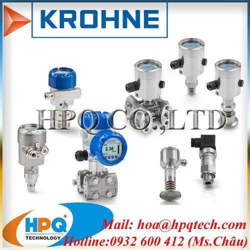 Cảm biến áp suất KROHNE3