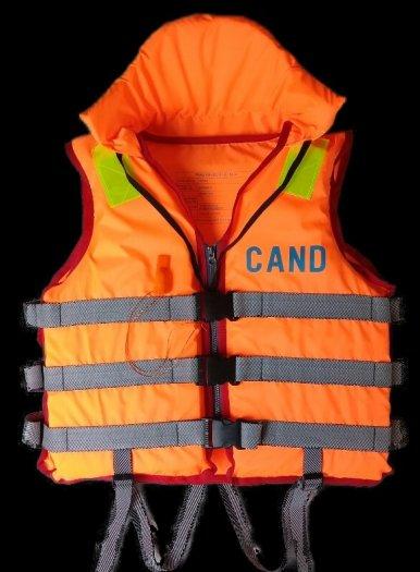 Cung cấp thuyền 6-8 người gắn động cơ du lịch trên sông, Thuyền du lịch sinh thái. Áo phao cứu sinh1