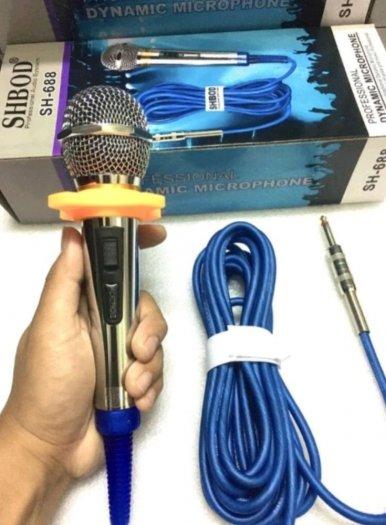Micro Có Dây Shbod SH 688 Karaoke Chuyên Nghiệp1