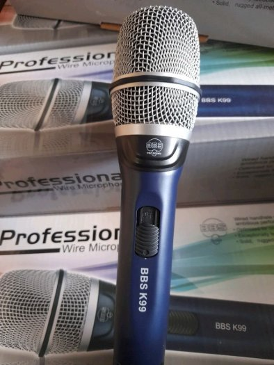 Micro Có Dây BBS K99 Hàng Nội Địa Karaoke Chuyên Nghiệp2