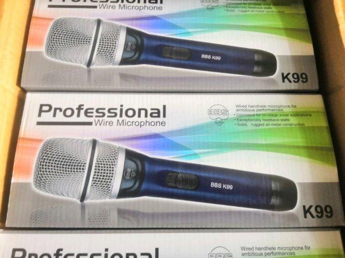 Micro Có Dây BBS K99 Hàng Nội Địa Karaoke Chuyên Nghiệp3