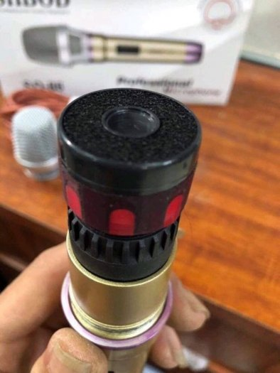 Micro Có Dây Shbod SD 86 Karaoke Chuyên Nghiệp3