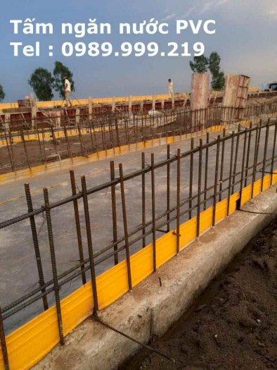Băng cản nước pvc O20-20m cho xây dựng nền móng nhà0