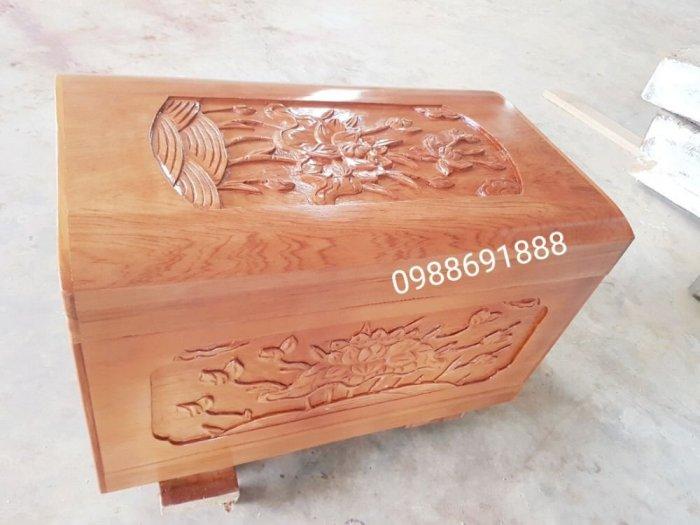 Quách gỗ vàng tâm4