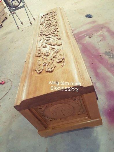 Quách gỗ vàng tâm tại hà nội8