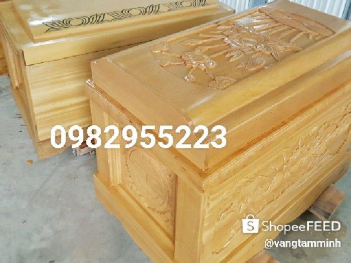 Quách gỗ vàng tâm tại hà nội10