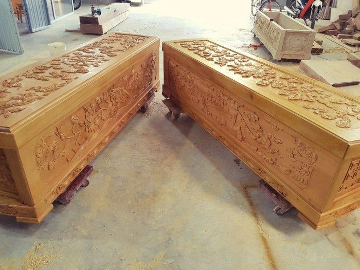 Quan tài gỗ ngọc am2