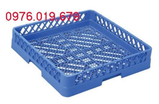 Rack 64 chông và rack phẳng đựng bát, đĩa, thìa... cho máy rửa bát1