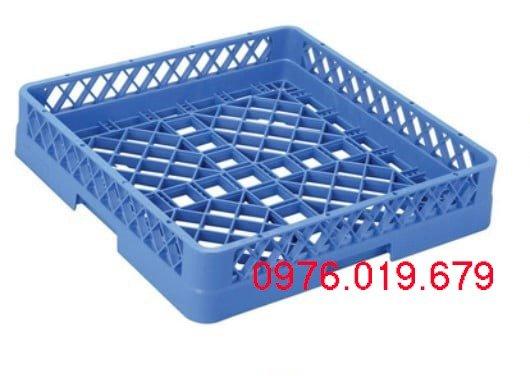 Rack 64 chông và rack phẳng đựng bát, đĩa, thìa... cho máy rửa bát0