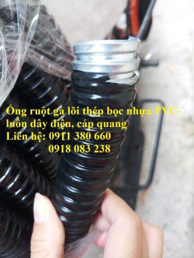 Bán ống ruột gà lõi thép bọc nhựa PVC- bảo vệ dây điện, cáp quang2
