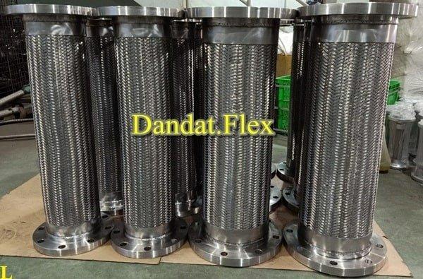 Khớp nối mềm inox thủy lực bọc lưới inox chính hãng11