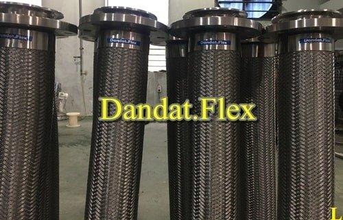 Khớp nối mềm inox thủy lực bọc lưới inox chính hãng9
