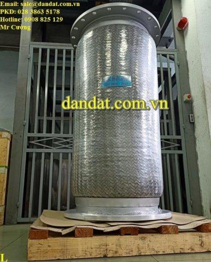 Khớp nối mềm inox thủy lực bọc lưới inox chính hãng7