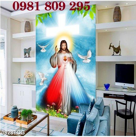 Tranh chúa - gạch tranh 3d công giáo2