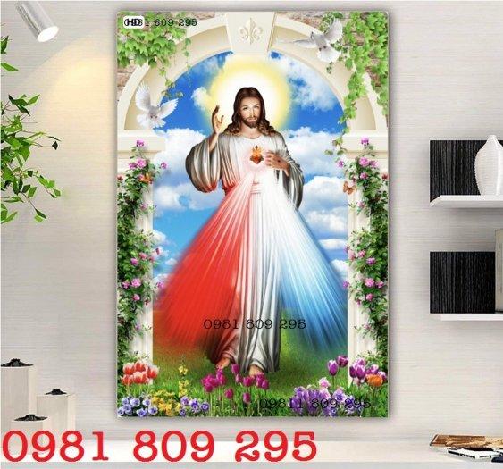 Tranh chúa - gạch tranh 3d công giáo0