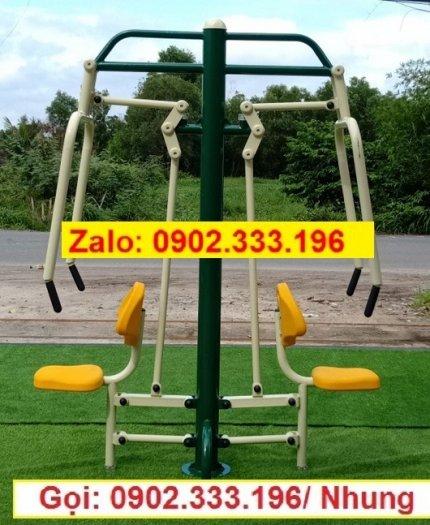 Cung cấp thiết bị tập thể dục công viên, máy tập thể dục công viên giá rẻ6