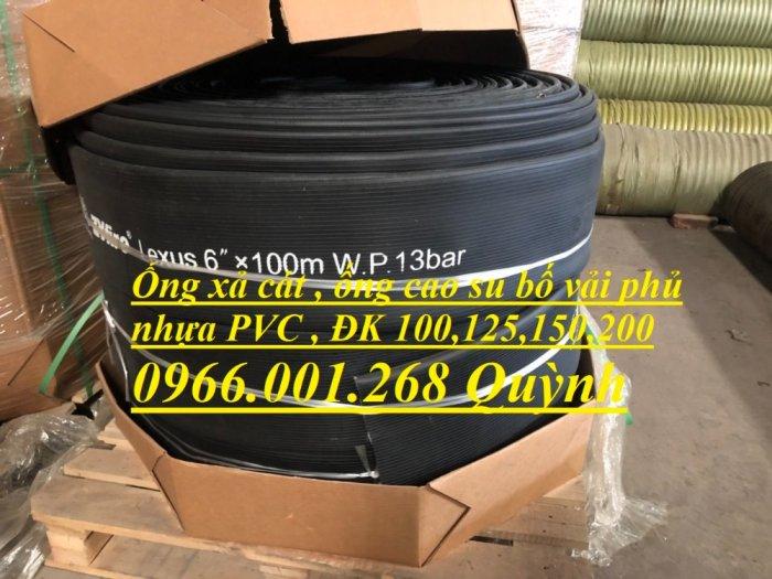 Ống chống nổ , ống cao su siêu nhẹ, ống cao su bố vải phủ nhựa phi 100,phi 125,phi 150,phi 2007