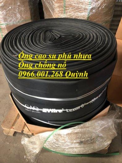 Ống chống nổ , ống cao su siêu nhẹ, ống cao su bố vải phủ nhựa phi 100,phi 125,phi 150,phi 2002