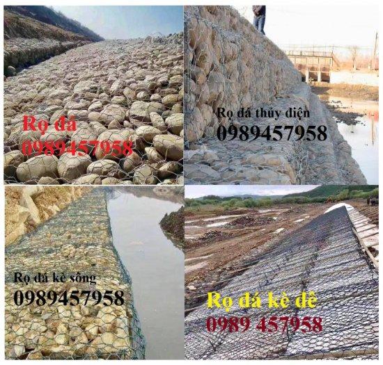 Nơi sản xuất rọ thép mạ kẽm 1x1x2m, 1x1x1, 1,5x1x1 - Rọ thép bọc nhựa siêu bền6