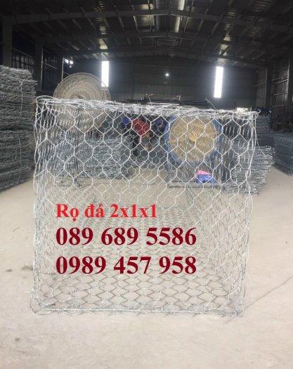 Nơi sản xuất rọ thép mạ kẽm 1x1x2m, 1x1x1, 1,5x1x1 - Rọ thép bọc nhựa siêu bền3