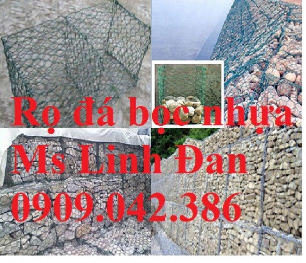 Báo giá rọ đá mạ kẽm Nhà máy sản xuất rọ đá, rọ đá bọc nhựa 2x1x1, rọ đá bọc nhựa pvc,12