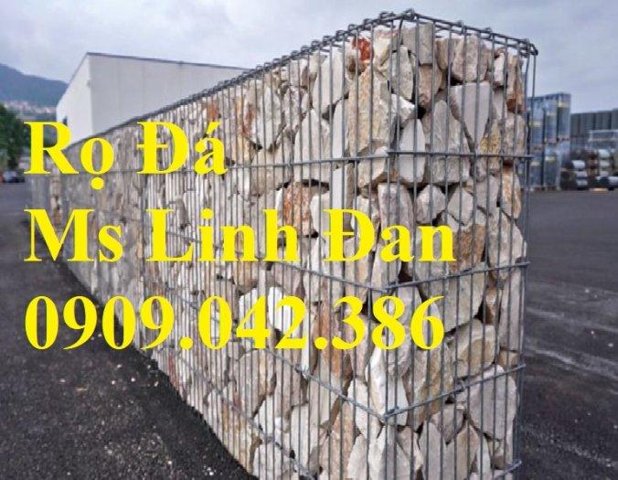 Báo giá rọ đá mạ kẽm Nhà máy sản xuất rọ đá, rọ đá bọc nhựa 2x1x1, rọ đá bọc nhựa pvc,10