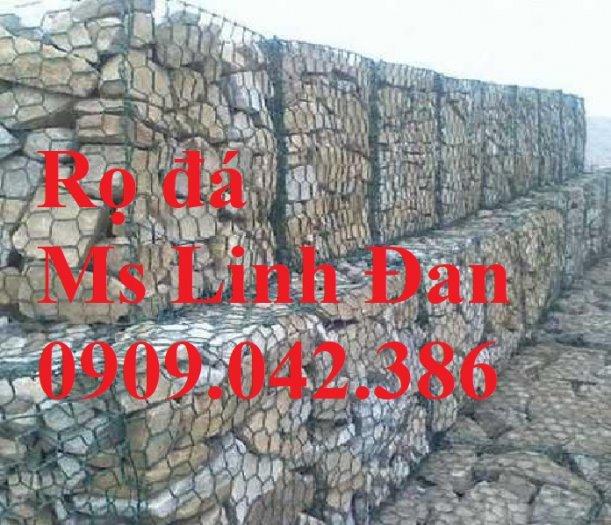 Báo giá rọ đá mạ kẽm Nhà máy sản xuất rọ đá, rọ đá bọc nhựa 2x1x1, rọ đá bọc nhựa pvc,9