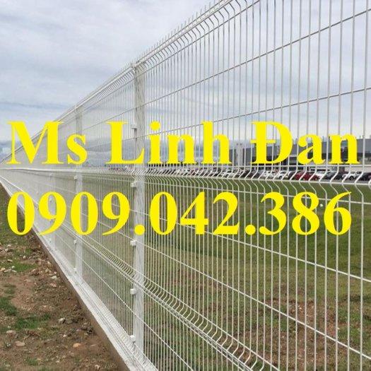 Hàng rào lưới thép chấn sóng sơn tĩnh điện8
