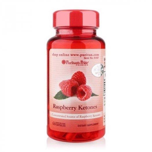 RASPBERRY KETONES 100mg (Lọ 60 Viên ) Hỗ trợ hạn chế sự tích tụ chất béo và các chất dưa thừa trong cơ thể.2