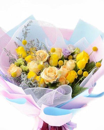 Bó hoa chào ngày mới rạng rỡ - LDNK1370