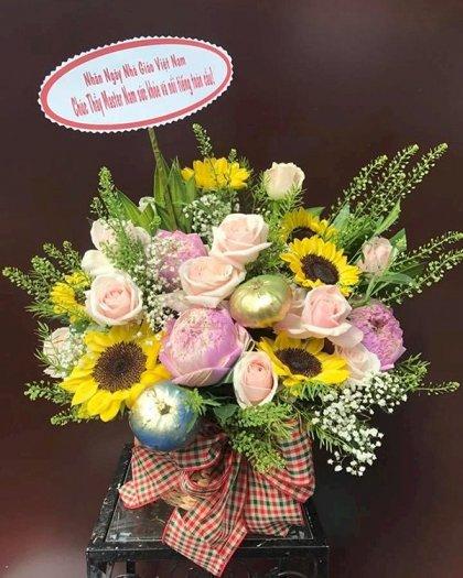 Chậu hoa tặng thầy ngày nhà giáo Việt Nam 20/11 - LDNK1500