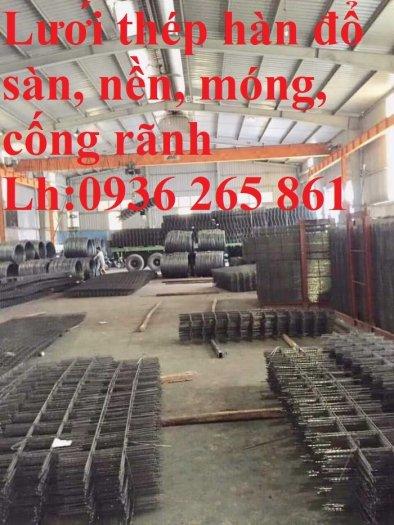 Sản xuất lưới thép hàn dây 4 mắt 100x100 đổ sàn bê tông, đổ cầu, cống rãnh cường lực cao16