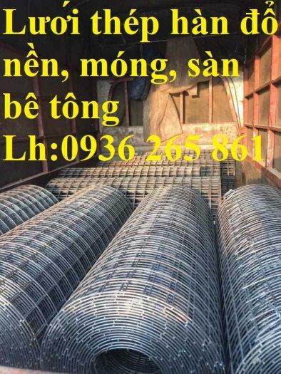Sản xuất lưới thép hàn dây 4 mắt 100x100 đổ sàn bê tông, đổ cầu, cống rãnh cường lực cao14