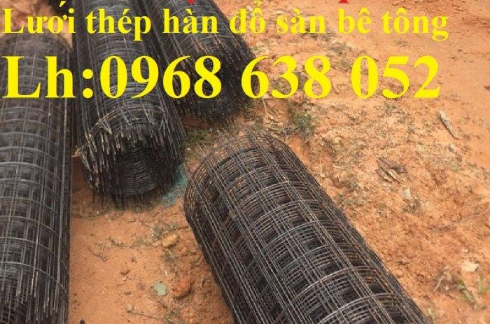 Sản xuất lưới thép hàn dây 4 mắt 100x100 đổ sàn bê tông, đổ cầu, cống rãnh cường lực cao11