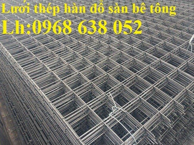 Sản xuất lưới thép hàn dây 4 mắt 100x100 đổ sàn bê tông, đổ cầu, cống rãnh cường lực cao8