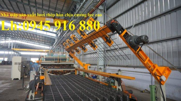 Nơi sản xuất lưới thép hàn D10a200x200 đổ sàn nền nhà xưởng cường lực cao13