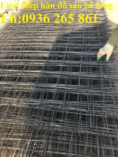 Nơi sản xuất lưới thép hàn D10a200x200 đổ sàn nền nhà xưởng cường lực cao0