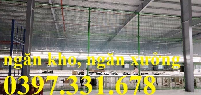 Chuyên sản xuất và thi công vách ngăn kho, hàng rào bốt điện giá sỉ3