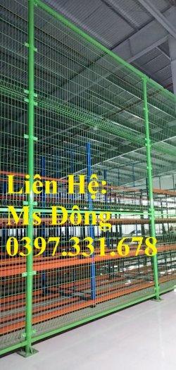 Chuyên sản xuất và thi công vách ngăn kho, hàng rào bốt điện giá sỉ2